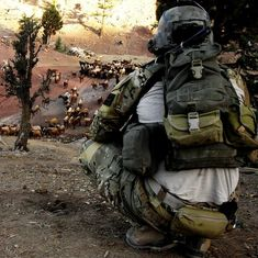 """Army Ranger and goats! I know they put on that """"hush-puppy"""" and ate good that kight lol.oh how i miss the specops! Military Gear, Military Weapons, Us Army Rangers, 75th Ranger Regiment, Army Police, Special Operations Command, Military Special Forces, Army & Navy, United States Army"""