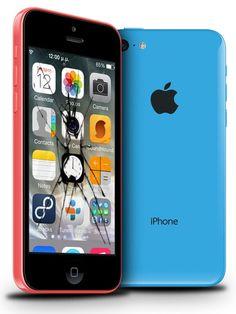 Ecran iPhone 5C - Réparation de votre iPhone 5C - DIY iPhone 5C - Pièces détachées et tuto vidéo écran iPhone 5C !