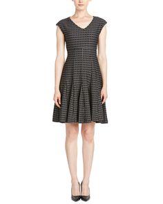 Rue La La — Taylor Jacquard A-Line Dress
