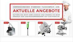 Küchengeräte für die Gastronomie jetzt stark reduziert. Sichern Sie sich die Angebote bei Gastparo: http://www.gastparo.de/top-seller-gastronomie-bedarf-guenstig