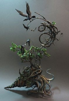 Beautiful Clay Creatures By Ellen Jewett