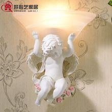 Amor angel Hause Schlafzimmer Neuheit Wandleuchte europäischen Stil Wandleuchte Dekoration Wandleuchte Glas Schatten mit Birne 110 V ~ 220 V(China (Mainland))
