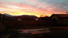 North Norway sky in Kvaloya, 9.30 am