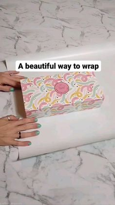 Diy Crafts Hacks, Decor Crafts, Fun Crafts, Diys, Diy Projects, Creative Gift Wrapping, Creative Gifts, Wrapping Presents, Wrapping Ideas