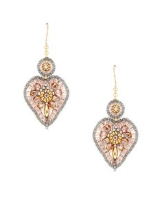 Miguel Ases Heart Shaped earrings - picture only, no links :(