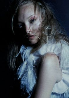 """Gemma Ward in """"Paradise Lost"""", photographed by Nick Knight for i-D Pre Fall 2005."""