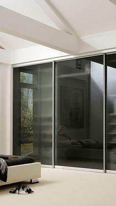 Glastür zum Schieben mit Milchglas. Glastür Innen | | Glastür Flur ...