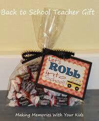 Teacher gift or bus driver?