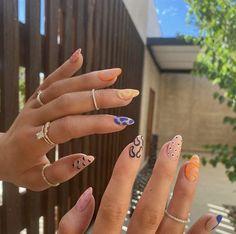 Nails Polish, Aycrlic Nails, Stiletto Nails, Edgy Nails, Cute Gel Nails, Cute Simple Nails, Les Nails, Shellac Nail Art, Nail Manicure