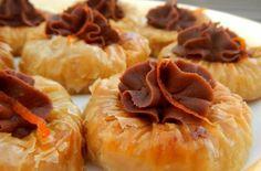 Σαραγλάκια - σιροπιαστά με σοκολάτα !!! | statusvoice.gr