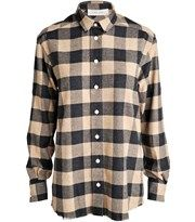 Iró: Donella checkered flannel shirt set på YouHeShe