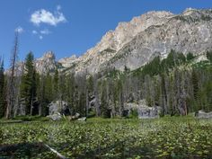 Lily Lake In Idaho's Sawtooths That's Basically Heaven On Earth