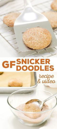 These gluten free snickerdoodles are the classic, super-soft cookies you remember, with that classic, crisp cinnamon-sugar crackle outside.