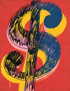 Pin for Later: 46 Affordable Gifts For Men in Their 20s Andy Warhol Dollar Sign, 1981 ($17)
