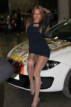 Sexy Black Pantyhose Show 42