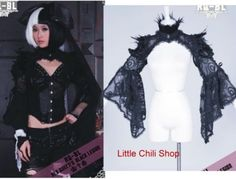 Dolly-Nana-Punk-Gothic-Sexy-Cyber-Jacket-Shirt-21080B
