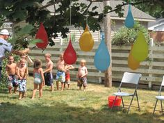 Stay cool and allergy-friendly with this awesome backyard water party! Safe food and lots of water games. Inexpensive and full of fun!