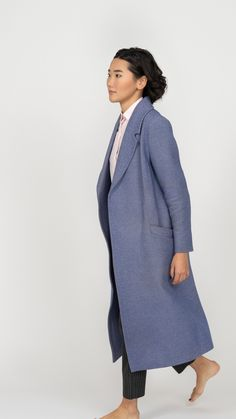 Long Winter Coats, Stylish Outfits, High Neck Dress, Ideas, Dresses, Women, Fashion, Dapper Clothing, Turtleneck Dress