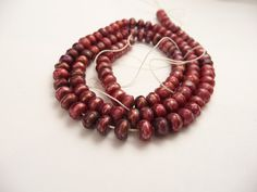 Perfect for the Fall: Faceted Raspberry Freshwater Pearls // Large by CastoGemstones