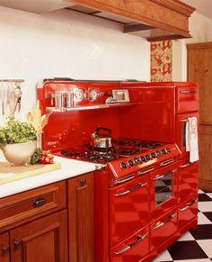 Cozinhas retrôs para você se inspirar