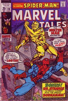 Marvel Tales - Spidey vs. The Molten Man