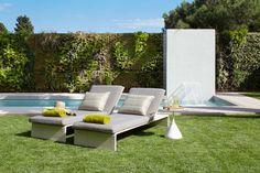 Molins Interiors // exteriores - Jardín - Piscina - hamaca - jardín vertical - fuente