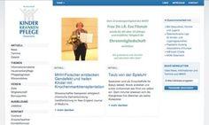 kinderkrankenpflege.at / Startseite © echonet