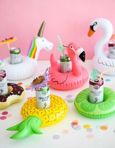 Throw The Best Bachelorette Weekend Ever With These Must-Haves: #3. Blow-Up Drink Floats