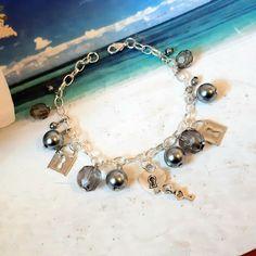 Beautiful Gifts For Her, Amazing Gifts, Charm Bracelets, Pearl Bracelet, Beaded Bracelets, Bridesmaid Bracelet, Bridesmaid Gifts, Stocking Fillers, Stocking Stuffers