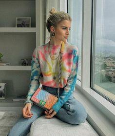 70 Stylish Fall Sweaters for Women 2019 - Soflyme Streetwear Mode, Streetwear Fashion, Tie Dye Outfits, Cute Outfits, Girl Fashion, Fashion Outfits, Fashion Trends, Moda Fashion, Fashion Lookbook