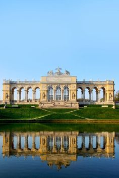 The Gloriette in the Schonbrunn Palace Garden, Vienna, Austria   |   Amazing Photography Of Cities and Famous Landmarks From Around The World