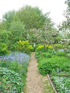The Charleston Farmhouse garden...