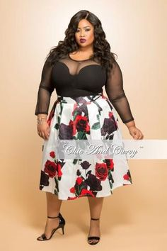 Final Sale Plus Size BodyCon Dress with Keyhole and Gold Embellishments in  Red 78dcf5617