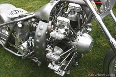 Bike with Radial Engine -527280