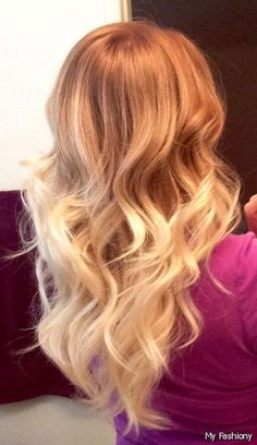 Ombre Hair Strawberry Blonde 2015-2016 | MyFashiony