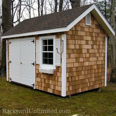 Cedar Shed 100 Square feet am sure that our garden shed will not