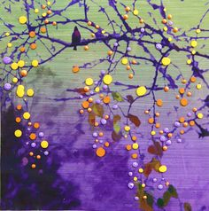 Amethyst Birdsong   See the world new by EnergyArtistJulia on Etsy, $48.00