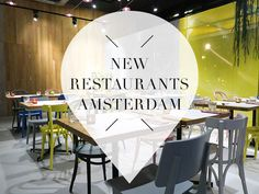Wondering what new restaurants hotspots have been opened in the last month? Check our blog with 9 new restaurants in Amsterdam you will not want to miss!