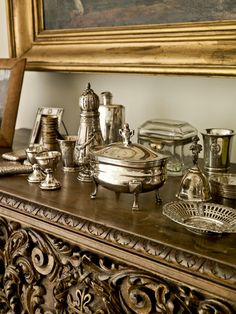 One of my favourite collections of silver is the George III sets in the Lauren Rogers Art Museum in Laurel.