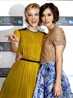 Keira Knightley and Carey Mulligan