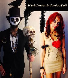 Image result for halloween couples makeup