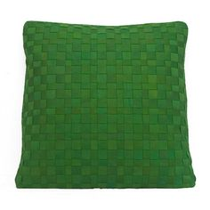DECORATIVE+PILLOWS++Interwoven+No+16+in+bright+by+goodsforlife,+$125.00