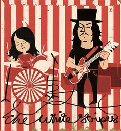 ♥...:: The White Stripes::...♥ Fave Tracks: We Are Going to Be Friends, The Hardest Button to Button, Fell in Love with a Girl, Icky Thump, Seven Nation Army Music Tv, Art Music, Music Lyrics, Good Music, Jack White, Pop Art, Band Posters, Music Posters, The White Stripes