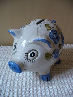 Vintage Pig-money box 70s