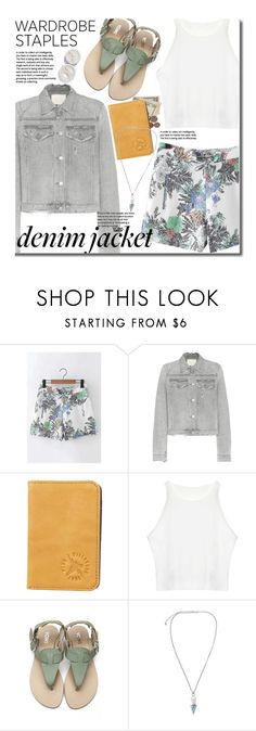"""Summer Wardrobe Staple: Denim Jackets"" by beebeely-look ❤ liked on Polyvore featuring Citizens of Humanity, Billabong, floralprint, denimjackets, WardrobeStaples, yoins and yoinscollection"