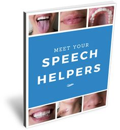 Speech Helpers teach children and adults about how and where speech sounds are made. This will increase awareness for speech production, whether your child is in therapy or not.