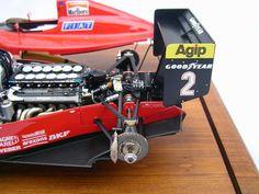 Gilles Villeneuve, Modeling Techniques, Ferrari F1, Karting, Car Drawings, Scale Models, Grand Prix, Race Cars, Auto Racing