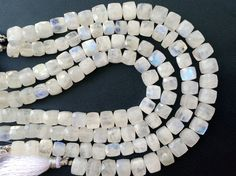 Rainbow Moonstone Beads Moonstone Faceted Box by gemsforjewels