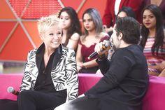 PARAÍSO DAS BARANGAS: Rede Record: Xuxa avalia performances do elenco do Legendários em versão do reality Dancing Brasil (14/07)