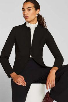 Blazer & Anzüge für Damen im Online Shop kaufen   ESPRIT Business Hose, Blazer, Jackets, Style, Fashion, Two Piece Outfit, Chic, Female Fashion, Clothing